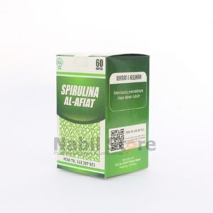 81.4 g gold value, Spirulina Al Afiat 60 Kapsul